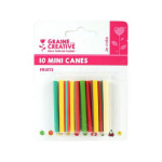 Mini canes Assortiment Fruits x 10 pcs
