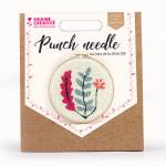 Kit créatif de broderie Punch needle