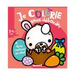 Je colorie sans déborder album Lapin de Pâques