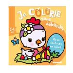 Je colorie sans déborder album Poussin de Pâques