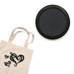 Izink textile - Tampon encreur - Noir khol