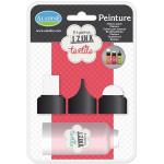 Embout mousse pour peinture textile Izink - 3 formes