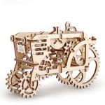 Puzzle mécanique en bois Tracteur