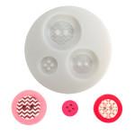 Moule en silicone  thème bouton géométrique