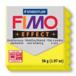 Pâte polymère Fimo Effect 56g - 104 - Jaune translucide