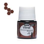 Peinture pour verre Vitrail 45 ml - 11 - Brun