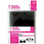 Bracelet plastique dingue - Kit noir et blanc