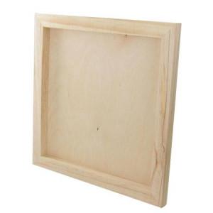 Châssis carré en bois - 30 x 30 cm