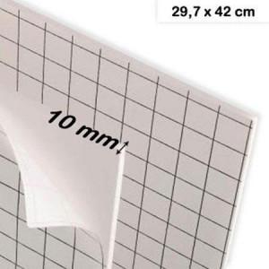 Carton mousse adhésif A3 épaisseur 10 mm