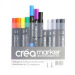 Set de 12 Créamarker couleurs basiques