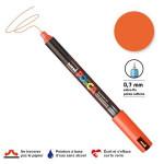 Marqueur PC-1MR calibrée extra-fine - Orange foncé