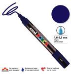 Marqueur PC-5M pointe conique moyenne - Bleu foncé