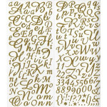 Alphabets stickers