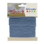 Fil tricotin - Bleu - 5 mm x 5 m