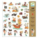 Stickers - Pirates - 160 pces