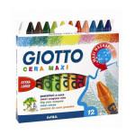 Crayon à la cire Cera Maxi - 12 couleurs