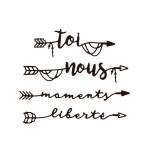 Die Set Moments de liberté - 4 pcs