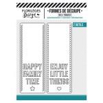 Die Set Happy Things - 2 pcs
