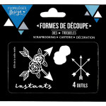 Die Set - Instants fleuris - 4 pcs