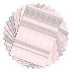 Bloc de papier imprimé Color Factory A4 Dentelles 48 feuilles