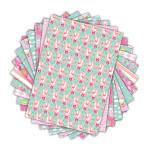 Bloc de papier imprimé Color Factory A4 Léonard & Joséphine n°2 48 feuilles