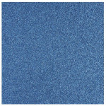 Papier pailleté bleu azur 30x30cm