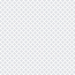 Calque imprimé Sashiko Ronds - 30 x 30 cm