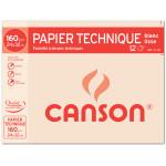 Papier Lavis technique 160g 24 x 32cm pochette de 12 feuilles