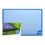 Plaque de coupe noire et bleue 30 x 45 cm