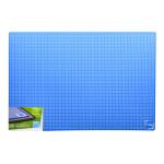 Plaque de coupe noire et bleue 60 x 90 cm