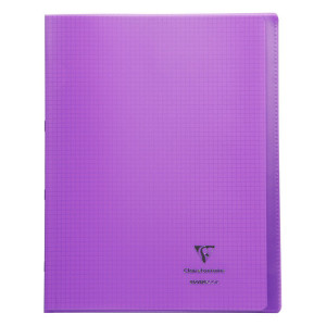 Cahier 24 x 32 cm petits carreaux Q. 5x5 96 pages Koverbook