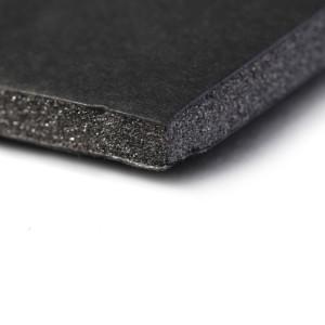 Lot de 5 cartons mousse noirs 50 x 65, épaisseur 5 mm