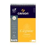 Bloc de papier C à Grain 224 g/m² 30 feuilles - 21 x 29,7 cm (A4)
