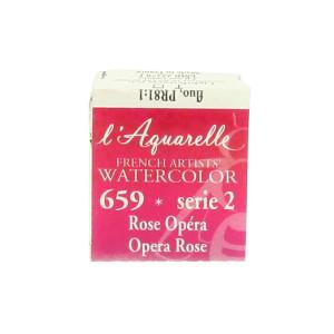 Aquarelle extra-fine au miel en demi-godet - 755 - Noir d'ivoire O ***