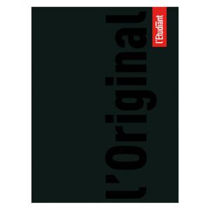 Agenda journalier 15 x 20 cm L'Étudiant couverture noire 2021-22