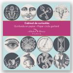 Guirlande 12 cercles illustrés Ø 11 cm x 3 m Cabinet de curiosités
