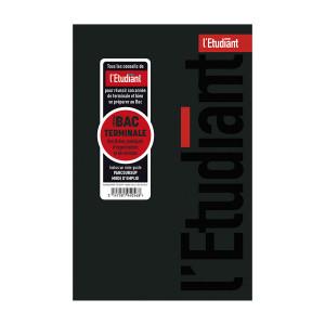 Agenda journalier 12 x 17 cm L'Étudiant noir spécial BAC
