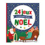 Livre - 24 jeux activités et comptines pour attendre Noël