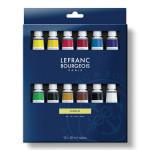 Peinture à l'huile fine LB 12 tubes 20 ml