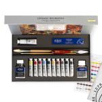 Peinture à l'huile extra-fine LB Set découverte 10 tubes + matériel