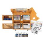 Peinture à l'huile extra-fine LB Coffret prestige 28 tubes + matériel