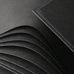 Carton Noir Ame Noir 50 x 70 cm 700 g/m²