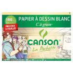 Papier C à Grain 180 g/m² Pochette de 12 feuilles