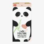 Bloc note magnétique Don't Forget panda
