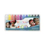 Crayon de maquillage Grimsticks 12 couleurs