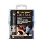 Embout Color Tops pour marqueur Chameleon 5 tons Peaux