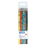 Crayon de couleur Super Heroes Space 6 pcs