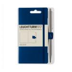 Attache stylo pour carnet Pen Loop Bleu marine