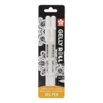 Stylo gel Gelly Roll Blanc 08 - 0.4 mm 2 pcs