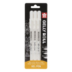 Stylo gel Gelly Roll Blanc 05 - 08 - 10